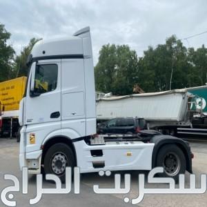 شاحنه مرسيدس اكتروس  1845 mp4 (2*4)للبيع باعلى جودة