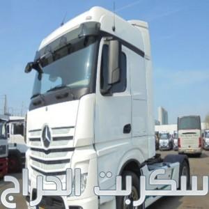 شاحنه مرسيدس اكتروس  1842 mp4 (2*4)للبيع بحالة ممتازة
