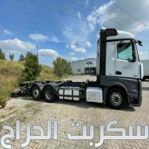 شاحنه مرسيدس اكتروس 2542 (2*6) mp4 للبيع بسعر لايصدق