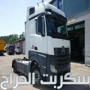 للبيع بسعر مميز جدا  شاحنه مرسيدس اكتروس  1845 mp4